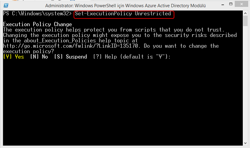 Windows Azure Active Directory Module for Windows Powershell-Part 2
