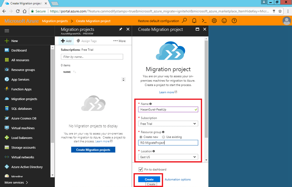 Overview Azure Migrate – Part 3